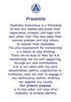 Preamble Reading Card (Double Sided)